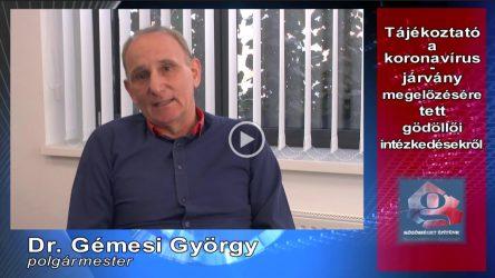 Gödöllő Város Önkormányzata Koronavírus-helyzet: gödöllői megelőző intézkedések