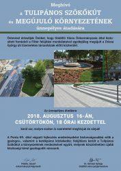 Gödöllő Város Önkormányzata Augusztus 16-án, 18 órakor adják át a Tulipános Szökőkutat és megújult környezetét