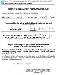 Gödöllő Város Önkormányzata Figyelem! DMRV-közlemény: vízkorlátozás Gödöllőn
