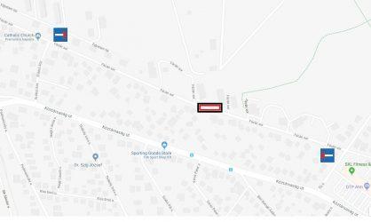 Gödöllő Város Önkormányzata Szennyvízcsatorna beszakadás miatt kell helyreállítást végezni a Fácán soron
