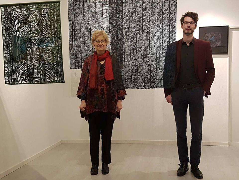 Katona Szabó Erzsébet és Frank De Lentdeckerrel közös kiállítása Kölnben