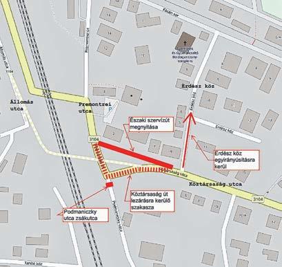 Podmaniczky utca: újabb bontás és lezárás