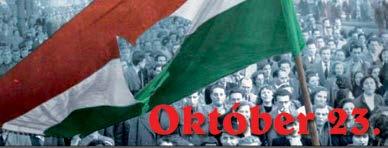 Meghívó az 1956-os forradalom és szabadságharc ünnepi megemlékezésére