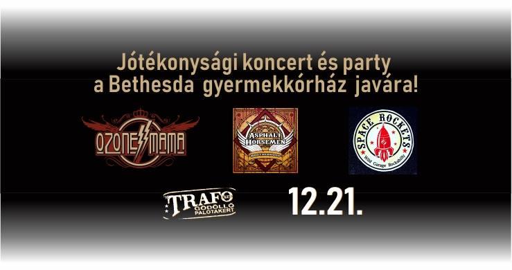 Jótékonysági karácsonyi koncert lesz a Bethesda Gyermekkórház javára a Trafo Clubban