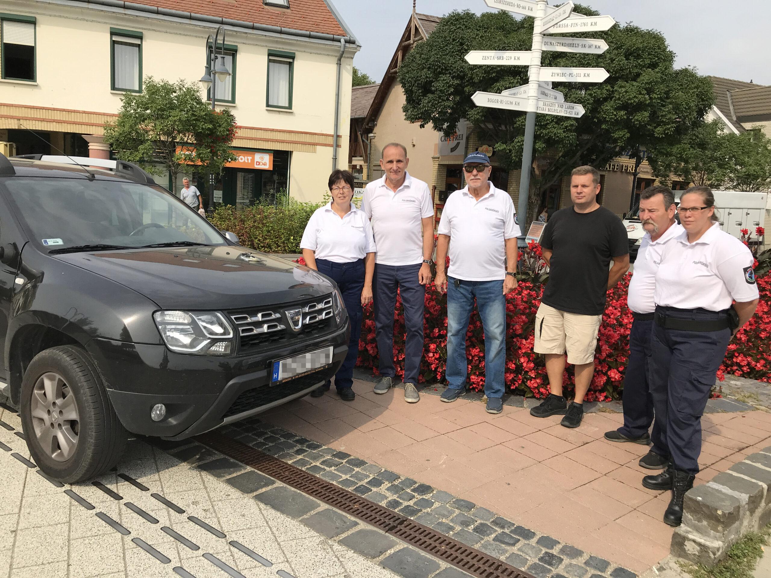 Autót kaptak a gödöllői polgárőrök