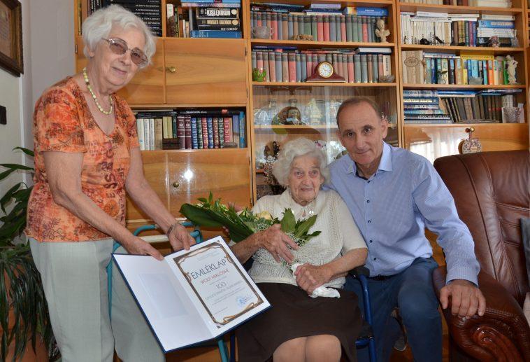 Boldog 100. születésnapot Ilonka néni!