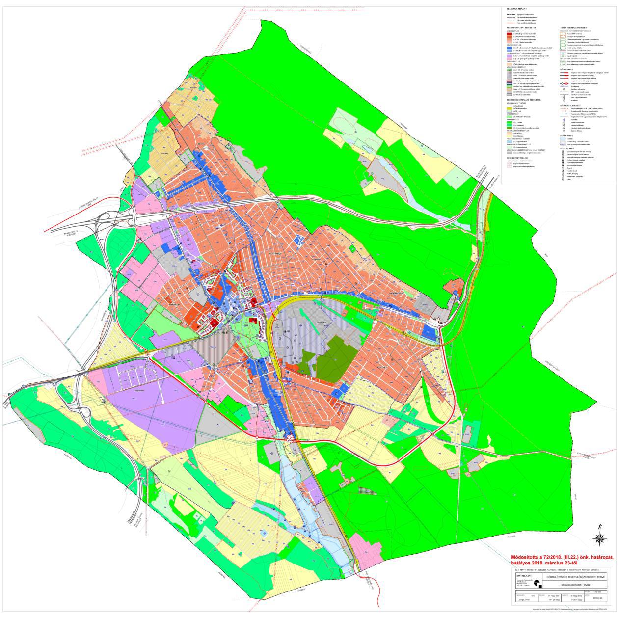 PARTNERSÉGI EGYEZTETÉS (munkaközi tájékoztatás)  Gödöllő Város településrendezési eszközeinek módosításáról