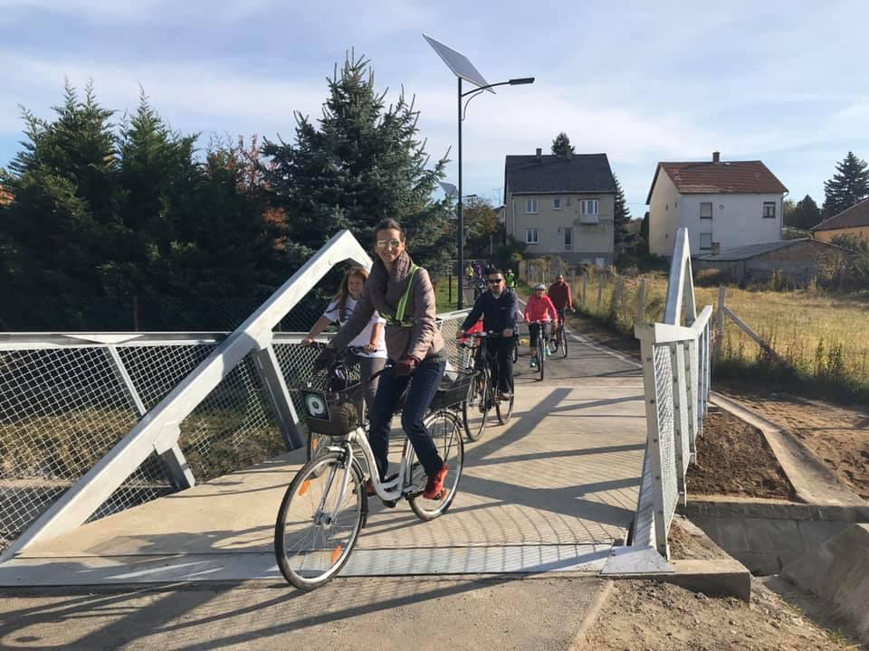 Lezárult az uniós forrásból épített kerékpárút-építés