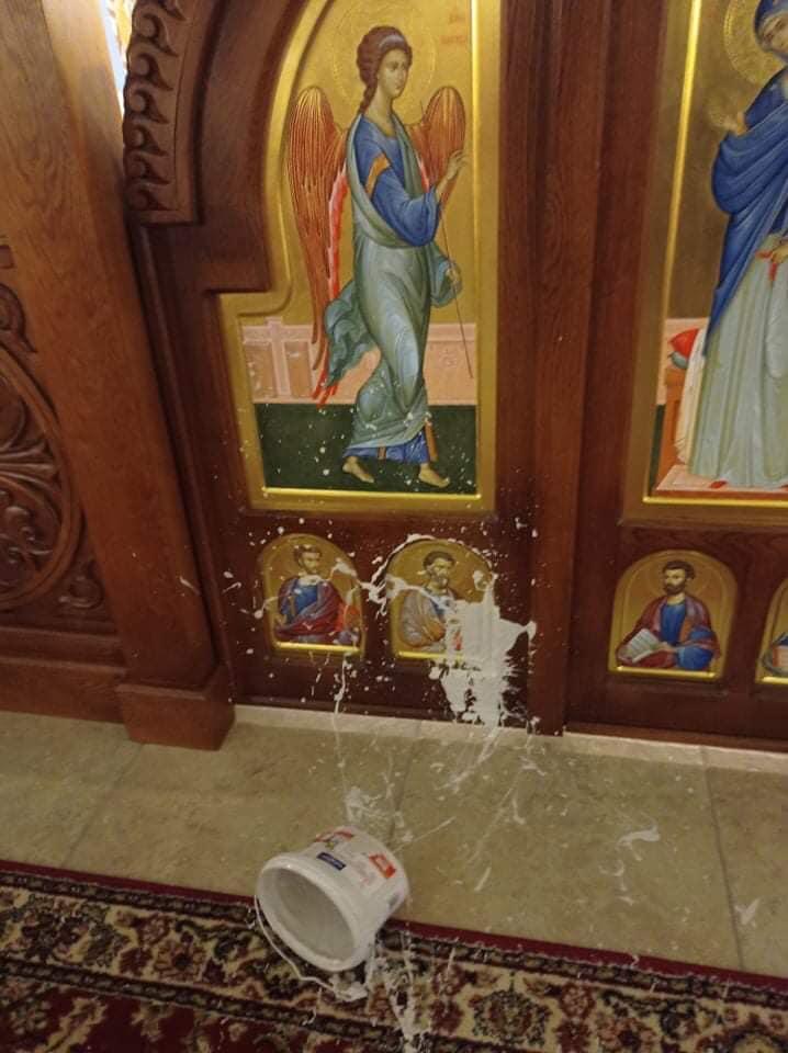 Rongálás történt a görög-katolikus templomban