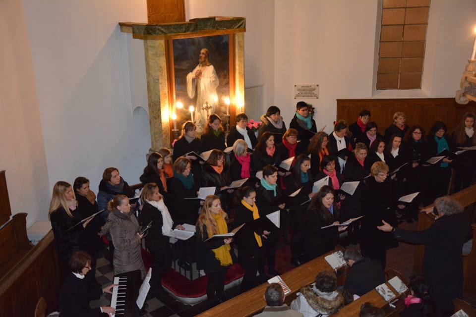 Jótékonysági koncert az evangélikus templomban
