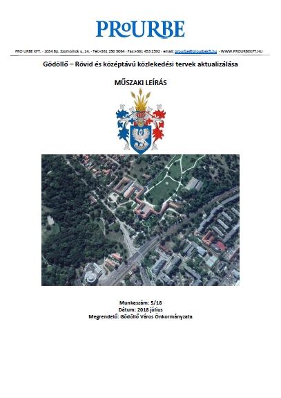 Gödöllő – Rövid- és középtávú közlekedési tervek aktualizálása
