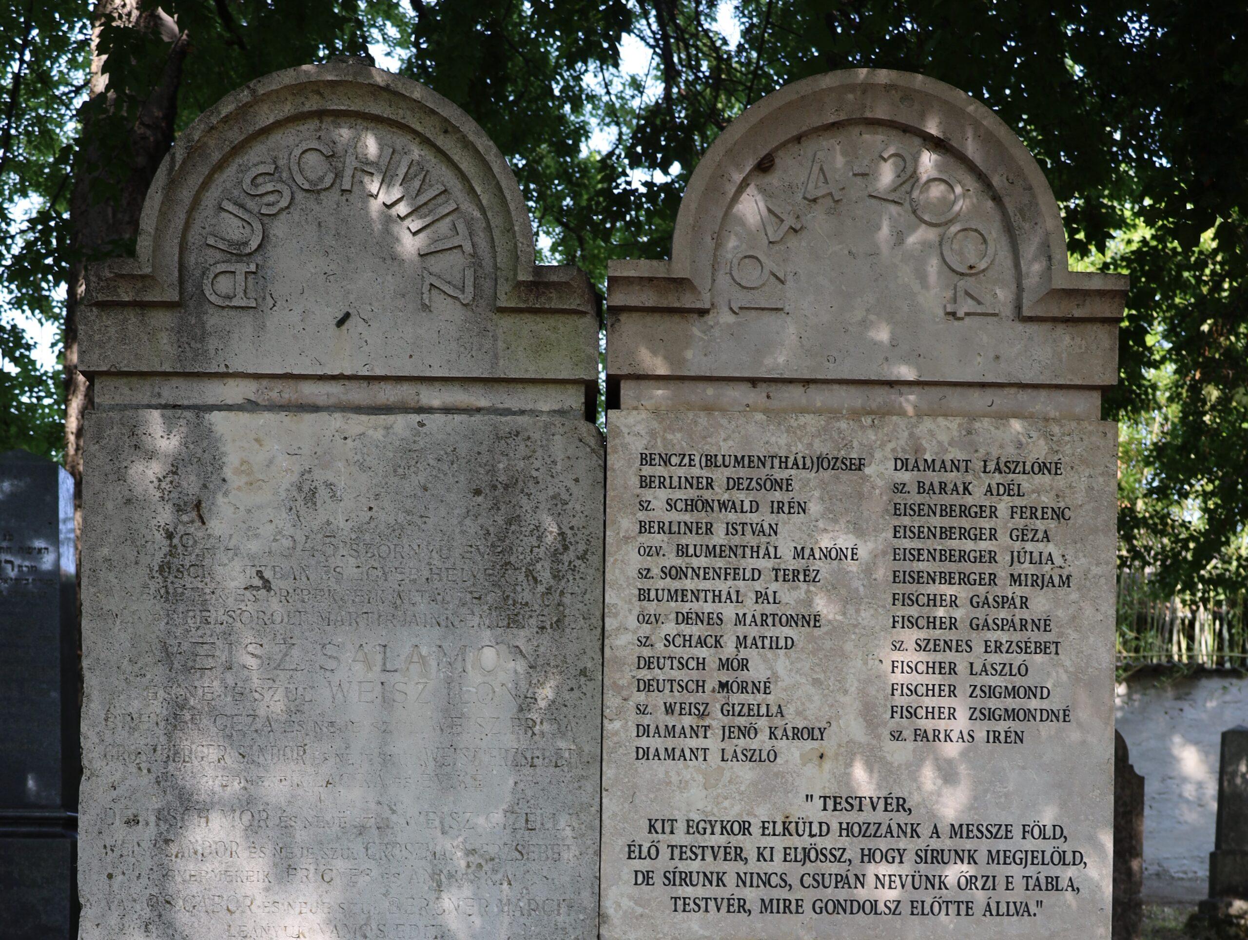 Emlékezés a holokauszt áldozataira