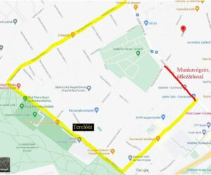 Gödöllő Város Önkormányzata Figyelem! Faápolási munkák miatt vasárnap lezárják a Dózsa György út egy szakaszát