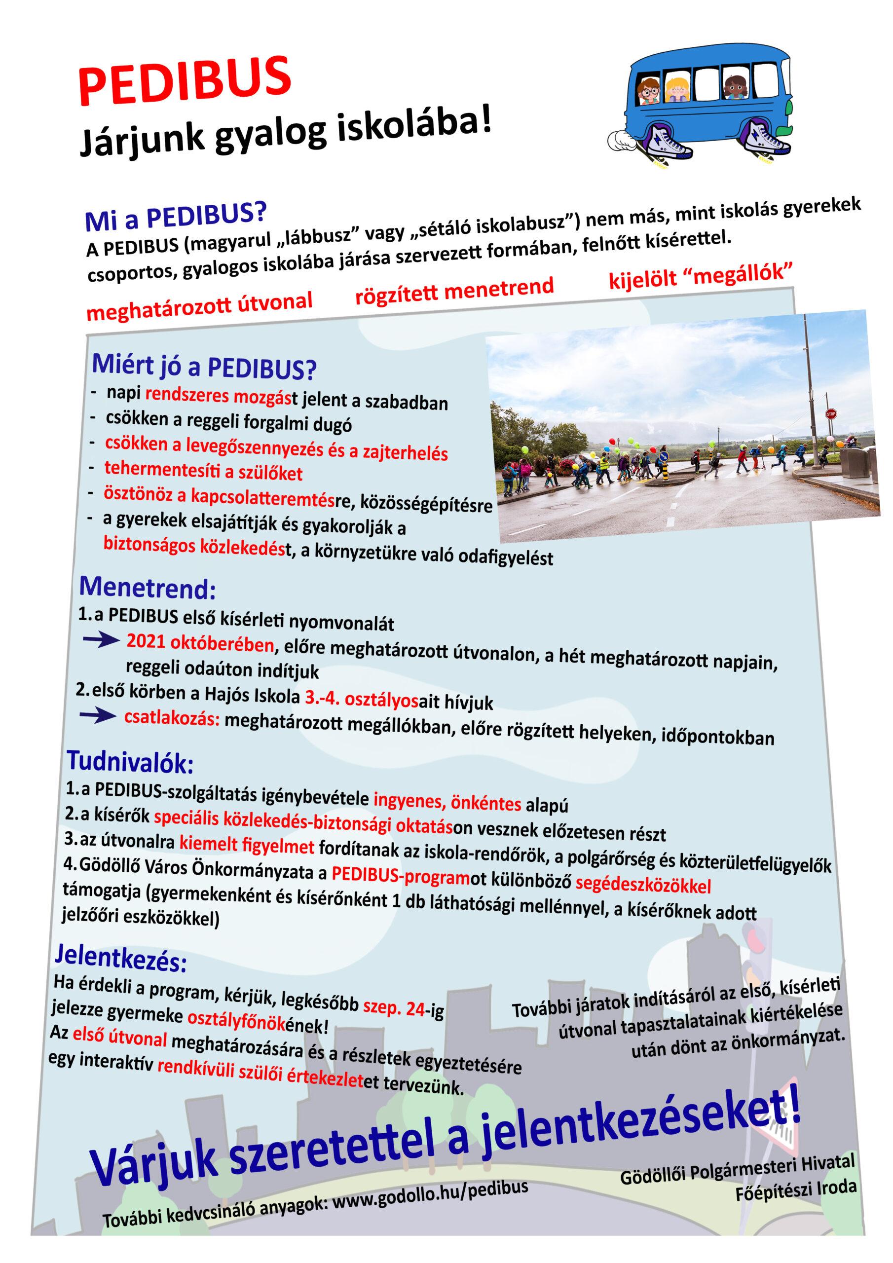 Gödöllő Város Önkormányzata Pedibus